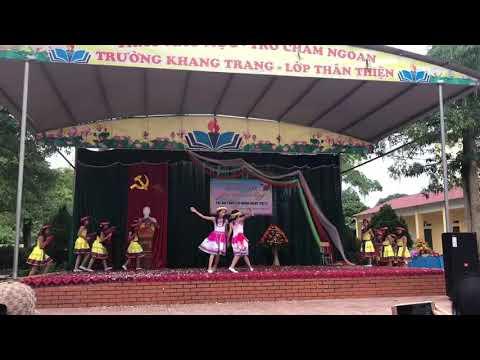 """Múa hát """"Đi học xa"""" Lớp 6B - Trường THCS Bình Thuận"""