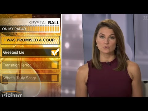 SHOCK: Krystal Ball DOWNPLAYS Trump's Attempt To STEAL The Election!
