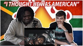 Nasty C   King Ft. A$AP Ferg | American React To South African Music