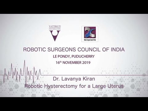 Robotic Hysterectomy for Bigger Uterus