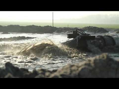 SAA A1/A6 Diemen - Zand opspuiten voor verlegging A1