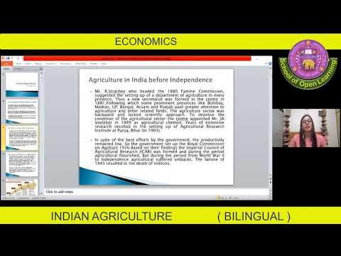 ECONOMICS-AGRICULTURE (BILINGUAL) By - NEHA ATRI