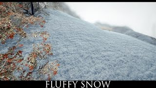 TES V - Skyrim Mods: Real Skyrim Snowflakes - Vivid Snow