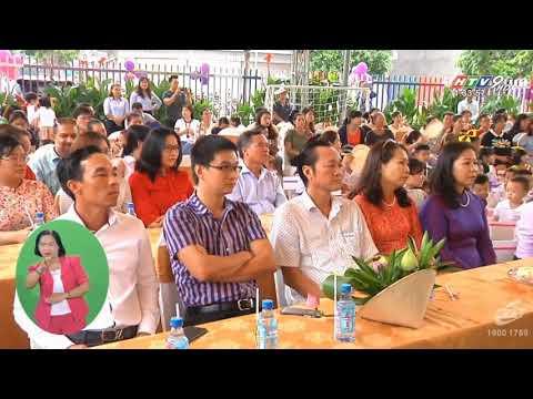 Bản tin HTV9_ Khánh thành trường mầm non Phú Đông Lotus