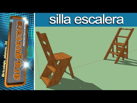Silla Escalera - step stool chair