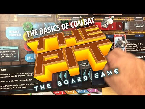 The Pit: The Board Game - The Basics Of Combat