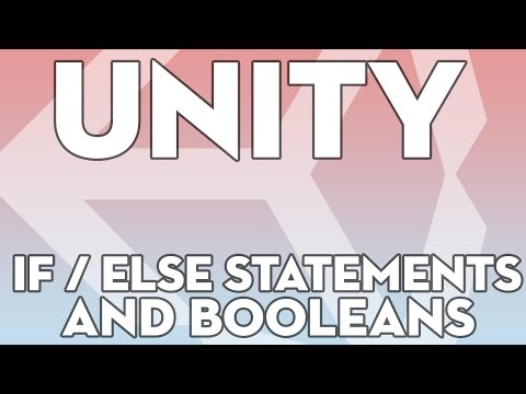Unity Tutorials - Beginner 20 - IF/Else and Booleans - Unity3DStudent.com