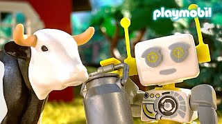 ROBert Knows!? | Where does the milk come from? | PLAYMOBIL | Kids Film