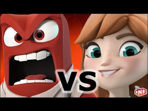 Mulan vs Rey sarlacc pit arena fight Disney Infinity toy box