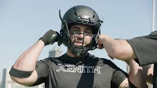 Football Equipment: Xenith Football Helmet Fitting