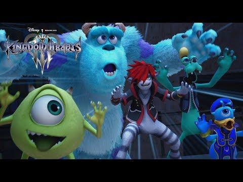 《王國之心3》全新《怪獸電力公司》世界正式遊戲內容預告片登場!