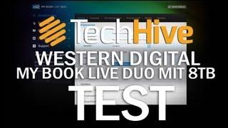 Western Digital My Book Live Duo Konfiguration und Einrichtung (Screencast)