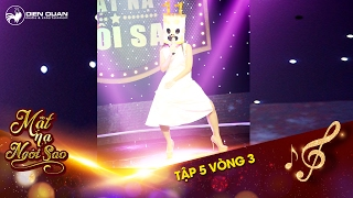 """Mặt nạ ngôi sao   Tập 5 vòng 3: Thu Trang """"lật mặt"""" Cục Bột Tháng 11 nhờ """"dáng đứng huyền thoại"""""""