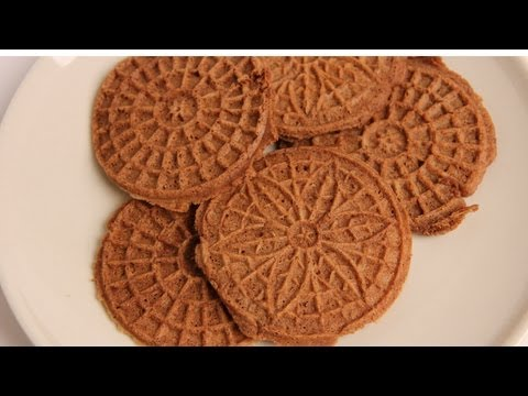 Chocolate Pizzelles Recipe – Laura Vitale – Laura in the Kitchen Episode 354