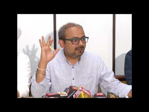 AAP Leader Dilip Pandey Briefs Media on CAG Report