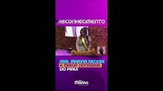 Deputada Marina Recebe maior honraria do Piauí