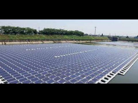 Usina fotovoltaica flutuante na Europa - Sunergia | energia solar