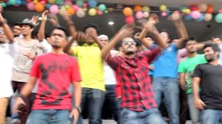 ICC T20 world cup 2014 Theme song flash mob By State University of Bangladesh (SUB)