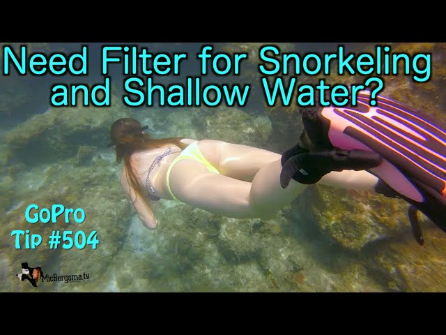Need Filter for Snorkeling / Shallow Water?  - GoPro Tip #504