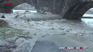 Fiume Reno - Alluvione A Vergato  Del 2/2/2019