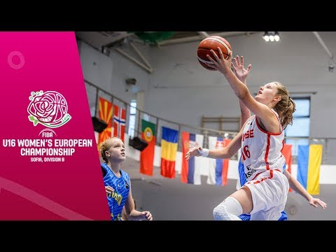 Switzerland v Kosovo - Full Game - FIBA U16 Women's European Championship Division B 2019