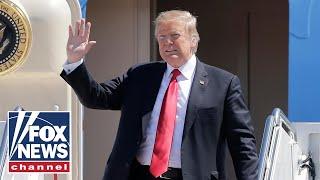 Trump arrives in Washington DC aboard AF1 days after Mueller ends probe