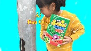 Ăn Kẹo Cao Su Hình Quả Dưa Hấu❤ Big Babol Shapeez❤ Baby channel❤