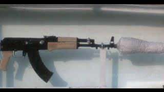 Slow Motion Of An AK47 Underwater Part 1  Smarter Every Day 95