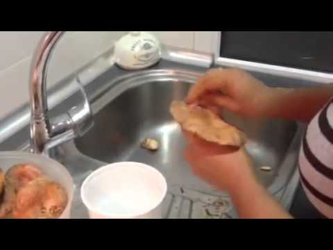 Limpiar niscalos como lavar niscalos recetas de comida - Como limpiar baldosas cocina ...