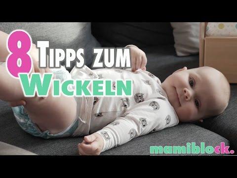 Wickeltipps für Neu - Mamis | Mom Hacks | DIY | mamiblock
