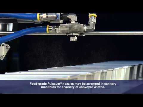 Spraying Systems Comtosi Srl: Oliatura teglie per pane con Ugelli PulsaJet