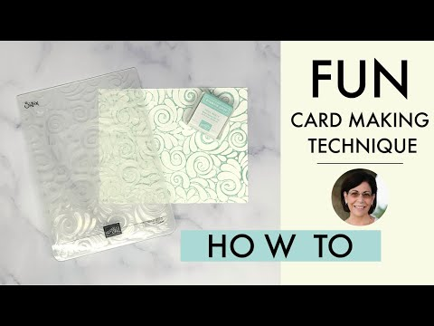 A Clever Card Making Technique for Super Fun Cards