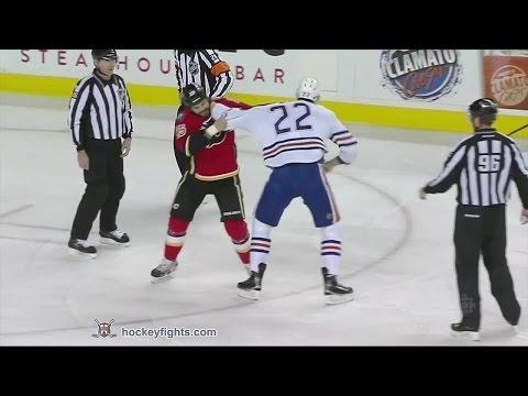 Brandon Bollig vs. Keith Aulie