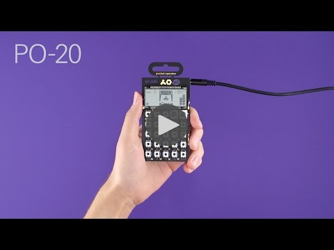PO-20 arcade instructional