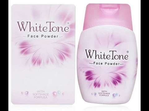 White tone face powder.. first impression look .. Review good or bad
