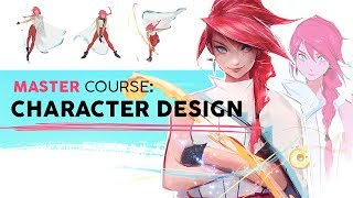 Illustration Master Course - Ep. 2: CHARACTER DESIGN