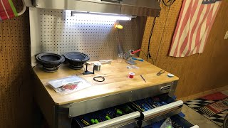 Kobalt tool bench unboxing and set up! (Silver/chrome)