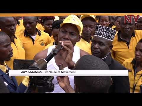 Obuwagizi eri NRM: Mu Katanga waliwo abatandise kaweefube