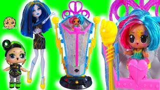 Electric Hair Style Makeover Machine LOL Surprise Hair Goals Video