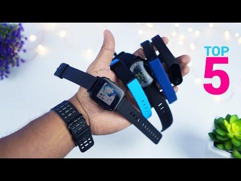 TOP 5 Mejores Smartbands Super BARATAS!!
