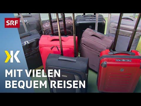 Handgepäck-Koffer im Test: Mit diesen reist man bequem |   2017 | SRF Kassensturz