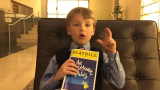 Iain reviews An American in Paris (Broadway) 4/30/2015