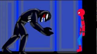 SPIDERMAN SPIDER MAN ANIMATING TOUCH DRAWING CARTOONS РИСУЕМ МУЛЬТФИЛЬМЫ 2 FLIPACLIP STICK NODES