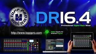 Topp Pro DR16.4 Digital Mixer
