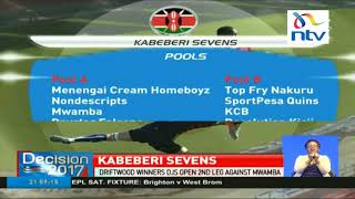 Driftwood winners DJs open Kabeberi sevens leg against Mwamba