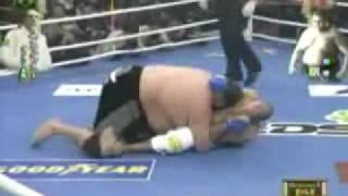 Royce Gracie Vs Sumo Wrestler