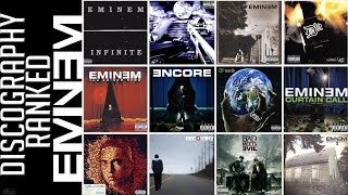 Eminem Discography RANKED Worst to Best (1996-2013)