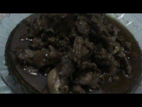 Video Resep Masakan Rica Rica daging Kelinci