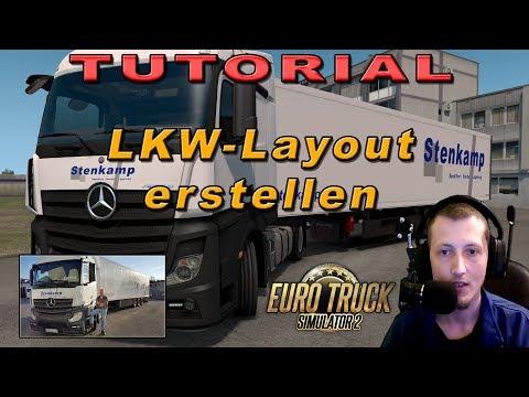 Anleitung: LKW-Lackierung erstellen 🎨 ETS2 | Deutsch