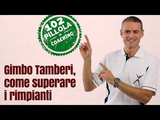 イタリアのTamberiのビデオ発音